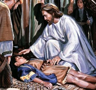 prayer to Jesus for the healing of a sick person