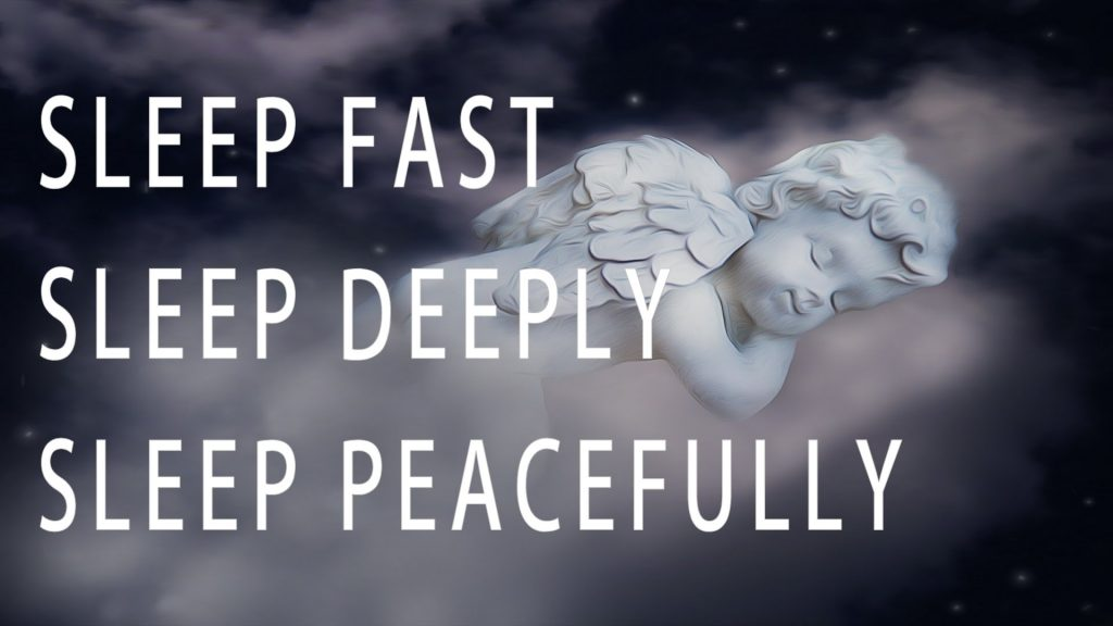 prayer to sleep in peace